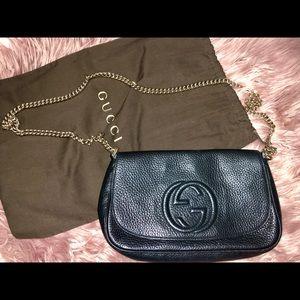 Gucci Soho Crossbody Handbag (Used)